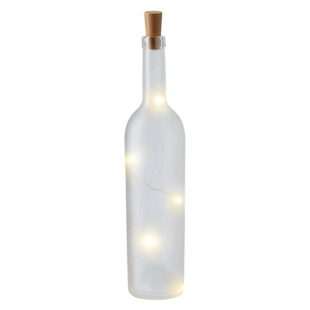 Decoreer je huis met glazen flessen en deze LED Verlichting Fles - Bottle Cap Lights