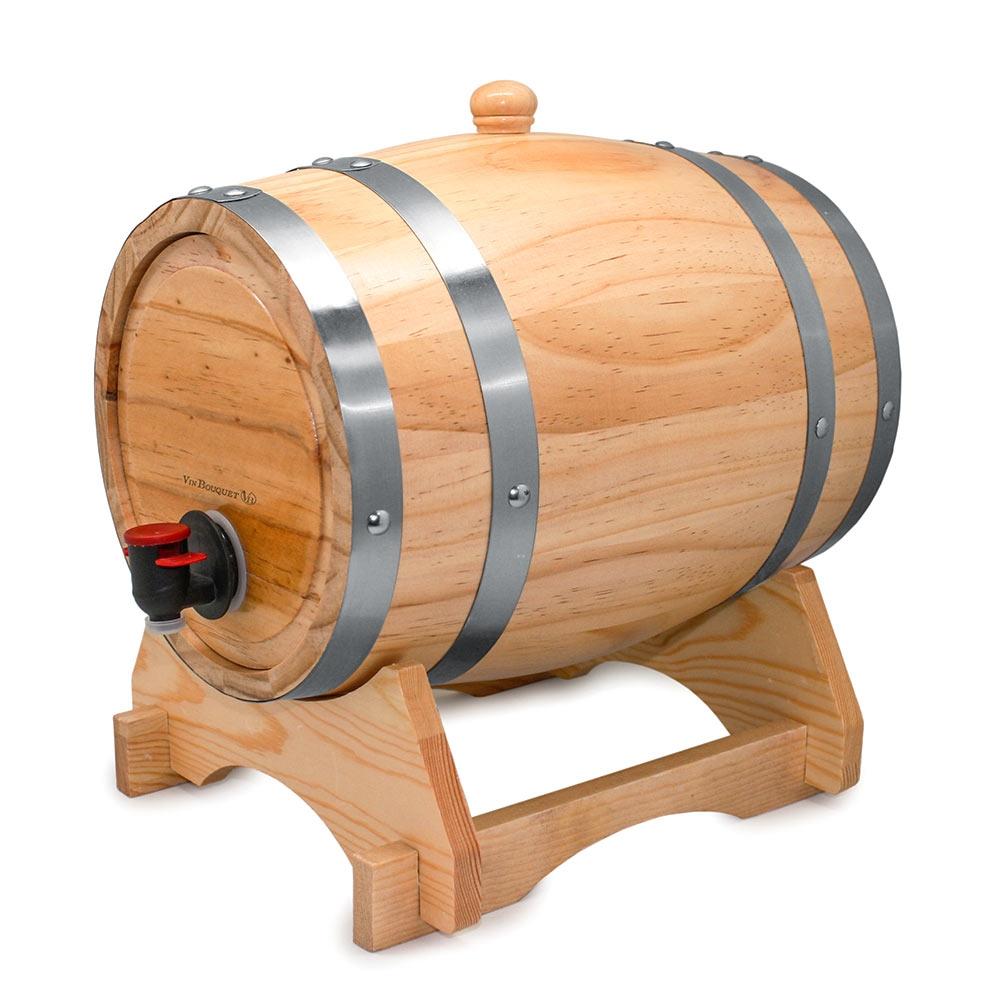 Rustiek Mini Wijnvat - 3L vul je met jouw favoriete wijn.