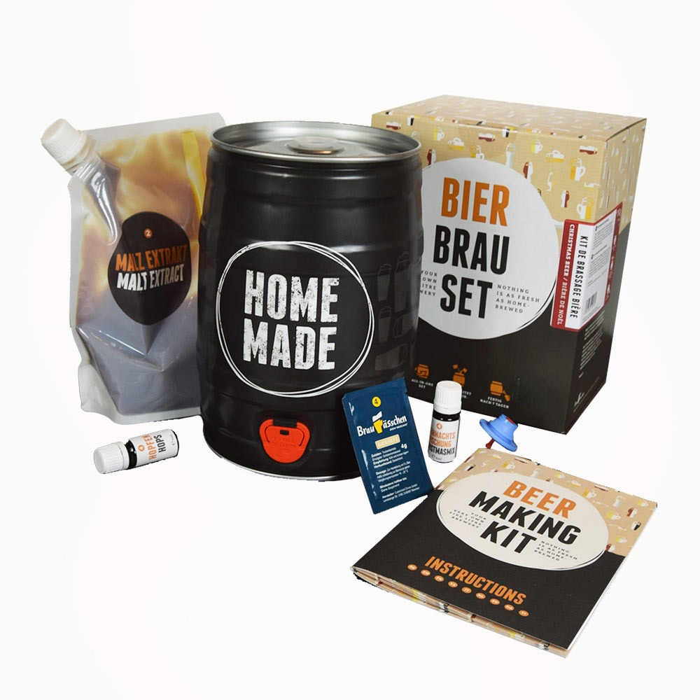 Brew Barrel Bierbrouwpakket voor de lekkerste eigen gemaakte bier.