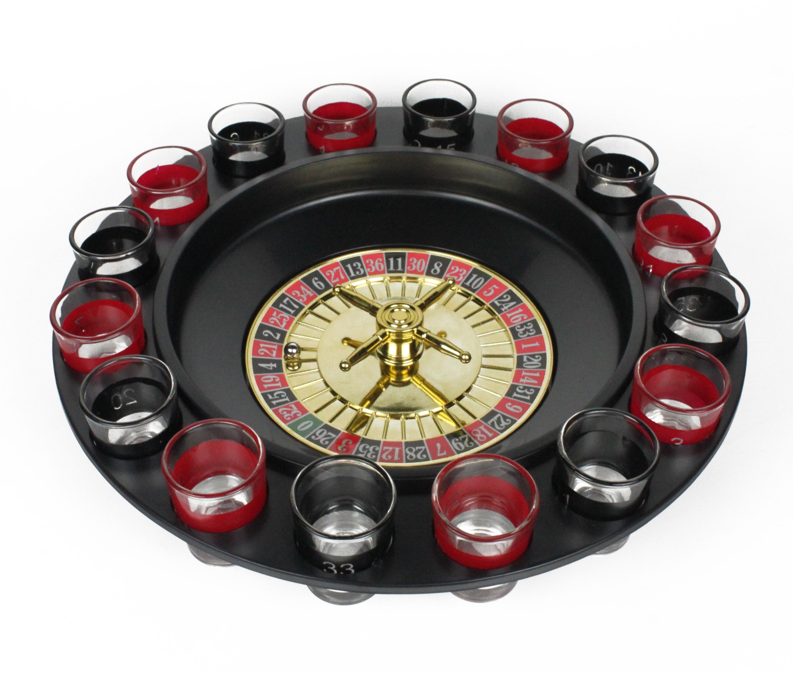 Het Roulette Drankspel is voor de studenten een perfect cadeau. Drinking Roulette!