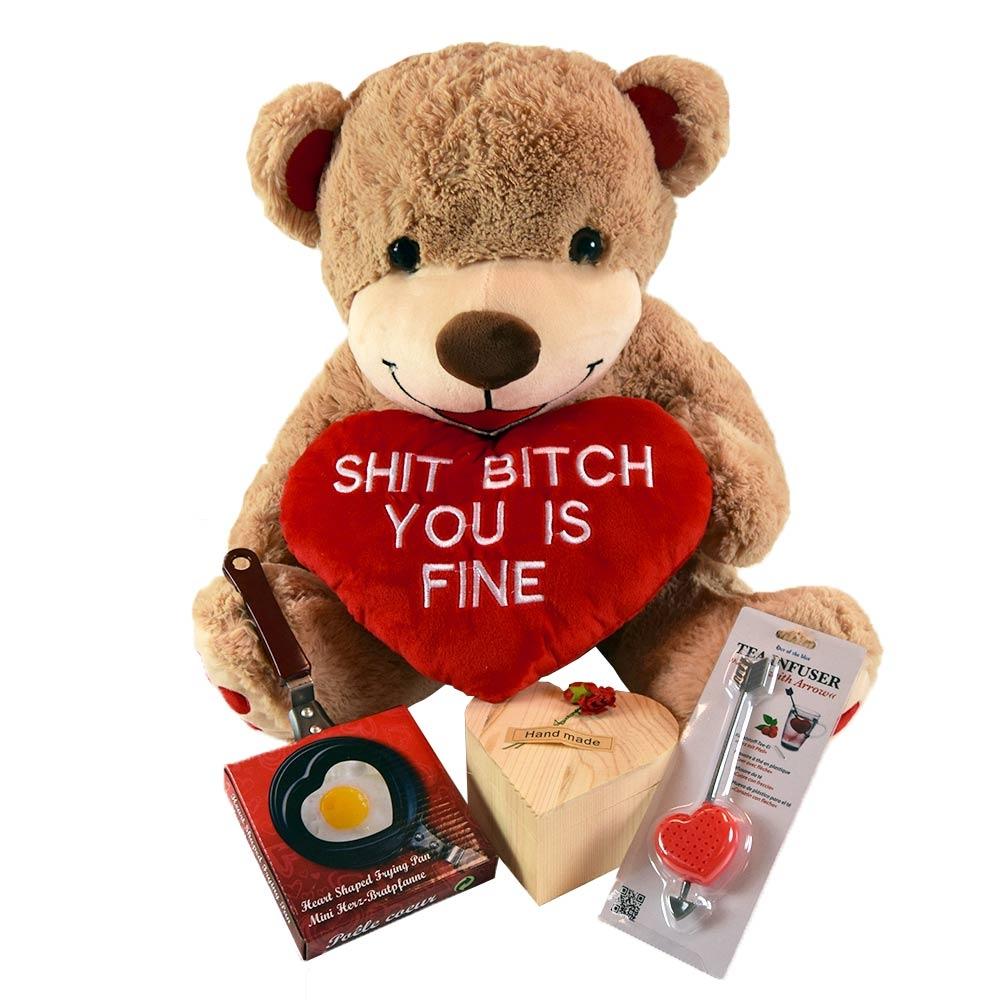 Valentijnscadeau Pakket voor een romantische Valentijnsdag.